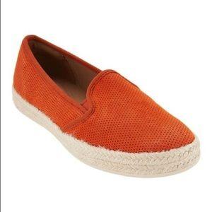 Clark's Orange Espadrilles 🍊